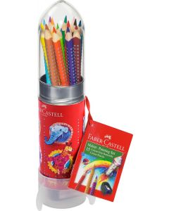 Faber-Castell Colour Grip Rocket Gift Set