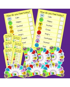 How Do You Feel Today? Emotions Resources Classroom Set