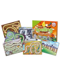 6 Spelling and Language Board Games Level 3