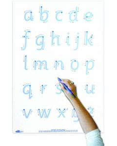 A4 Whiteboard, Pen, Erasing Felt & Bag - Letter Formation
