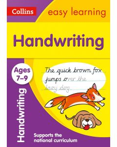 Collins Easy Learning KS2 - Handwriting Ages 7-9
