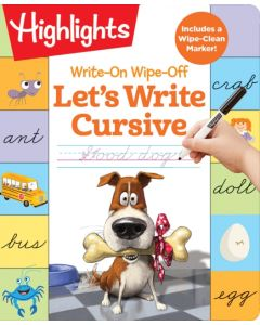 Write-On Wipe-Off: Let's Write Cursive