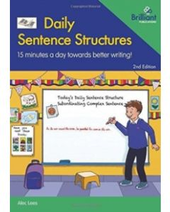 Daily Sentence Structures : 15 minutes a day towards better writing!