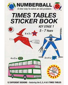Times Tables Sticker Book - Key Stage 1