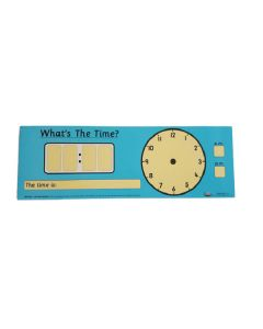 Child's 'What's The Time?' Card