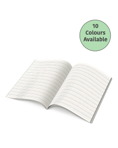 """Tinted Paper Handwriting Exercise Book - 9""""x7"""""""