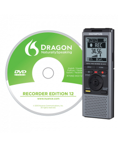 Olympus VN-731PC Digital Voice Recorder (with Dragon Recorder Edition)
