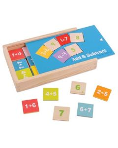 Bigjigs Toys Add and Subtract Box - Educational Games