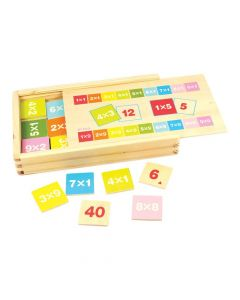 Bigjigs Toys Times Table Box - Educational Games