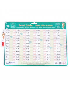 Secret Scholar Crack The Code Times Tables Random