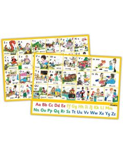Jolly Phonics Alternative Spelling an Alphabet Posters