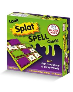 Look, Splat, Spell, Check Games Level 1