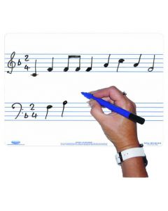 A4 Whiteboard Set - Music