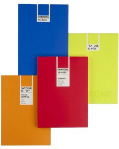 Pantone Universe Pocket Ruled Notebook - Cream Paper