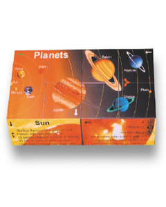 Planets Learning Cube Book (including Dwarf Planets)