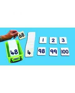 Plastic Number Cards to 100