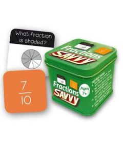 Savvy Maths Games - Fractions