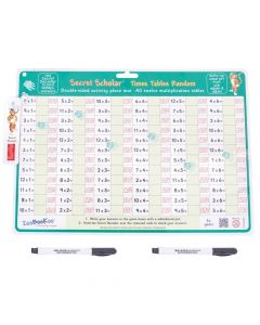 Secret Scholar Times Tables Random & Pen with Secret Decoder