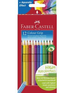 Faber-Castell GRIP 2001 Colour Pencils (Box of 12 Colours)