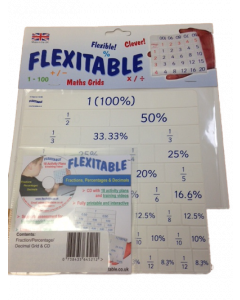 Flexitable Fraction Grid with CD