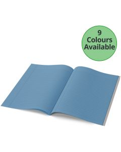 A4 - 7mm Lined Tinted Exercise Book - (Grey Cover)