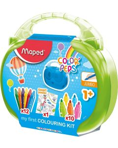 Maped Color'Peps My First Jumbo Colouring Activity Case (Age 1+)