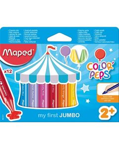 MapedColor'Peps My First Jumbo Wax Crayons (Age 2+)