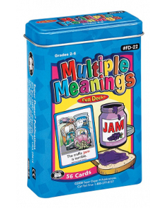 Multiple Meanings Fun Deck