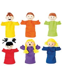 Emotional Puppets set of 6