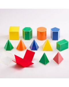 Folding Geometric Solids 2D/3D - Pk12