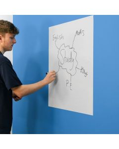 A1 Plain White Magic Whiteboard