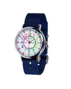 Rainbow Past & to Watch - Navy strap