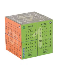Times Tables Learning Cube Book (Multiplication 1 to 12)