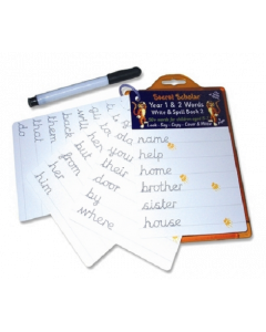 Years 1 & 2 Words - Write & Spell for 5-7 years